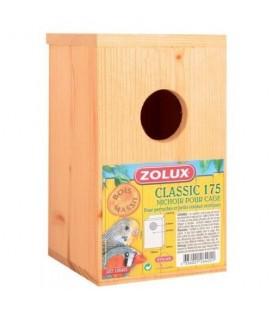Zolux nido in legno standard classic per pappagallini