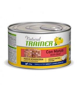 Trainer Natural Adult Cane Mini Manzo e Riso 150 gr