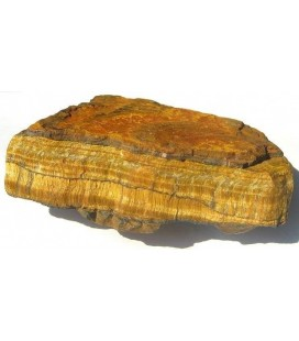 Zolux roccia decorativa Tigereye pezzo singolo peso 1 kg ca