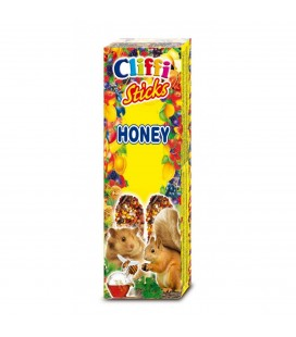 CLIFFI STICKS HONEY - CRICETI & SCOIATTOLI 110 gr