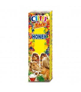 CLIFFI STICKS HONEY - CRICETI & SCOIATTOLI 110 gr
