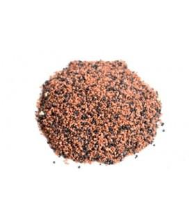 Zolux Quarzo per fondo acqua dolce e marina Mix D MARRONE/NERO 5 kg