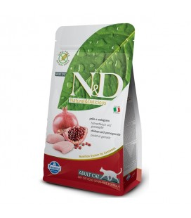fARMINA N&D - Grain Free Adult al Pollo e Melograno 10 kg