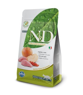 Farmina N&D - Grain Free Adult cat Cinghiale e Mela 10 Kg