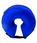 Leo Pet Collare elisabettiano gonfiabile lavabile misura XL per girocollo maggiore di 46 cm