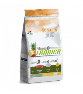 Nova foods fitness 3 adult mini anatra riso olio 2 kg