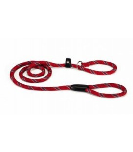 Beeztees Guinzaglio per cani di nylon rotonda 170cm x 8mm rosso
