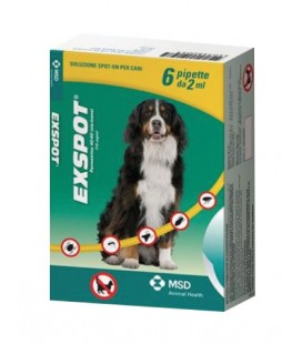 Msd Expot antiparassitario per cani in pipette 6 x 1 ml