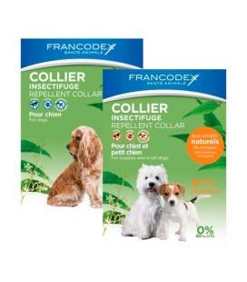 Francodex Collare antiparassitario naturale per cani Grandi 10- 20 kg