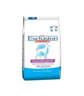 Exclusion Diet Formula Hypoallergenic per cani oltre 10 kg peso con pesce e patate 12.5 kg