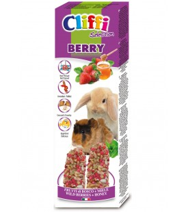 Cliffy stick per coniglie e cavie Berry ai frutti di bosco gr.110