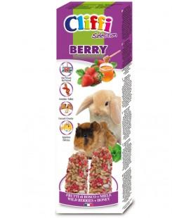 Cliffi Berry Sticks canarini frutti di bosco e miele 60gr