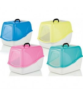 Fop Buffy cat toiletta chiusa colori fluorescenti