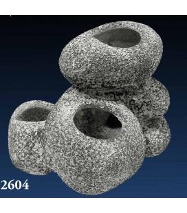 Velma roccia bonsai in ceramica 13,5x12x11.5 cm