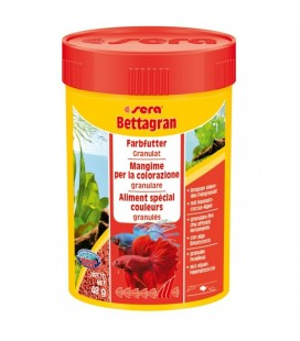 Sera Bettagran 50 ml 24 gr Mangime in Granuli per Pesci Betta