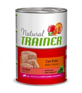Trainer Natural Puppy & Junior Medium & Maxi con Pollo 400 gr