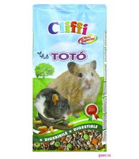 Cliffi toto' new superior per criceti 900 g