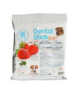Della Grana Pura natura dental stick soft de buon giorno con fragola e salvia mini per cani fino a 10 kg 40 gr