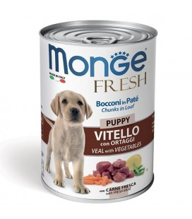 Monge Fresh Puppy Vitello con Ortaggi gr 400