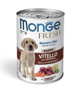 Monge Fresh Puppy Vitello con Ortaggi gr 400