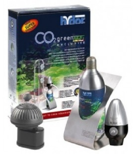 HYDOR IMPIANTO CO2 GREEN NRG EXCLUSIVE PER ACQUARI * esclusa bombola co2