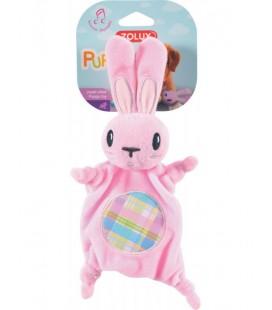Zolux gioco peluche XS coniglietto rosa