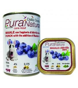 Dalla Grana Pura natura alimento umido per cani con capra e more 150gr