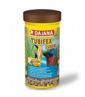 Dajana Tubifex liofilizzato a cubo 250 ml