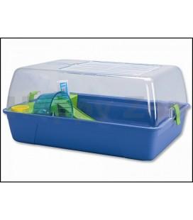 Savic gabbia rody hamster blu 55x3x26 cm