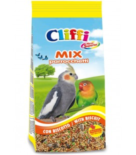 Cliffi NEW SUPERIOR MIX PARROCCHETTI con biscotto 1KG