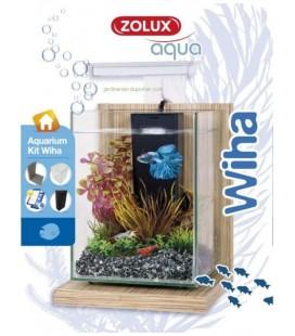 Zolux mini acquario Wiha Bambou beige - CM 17X18X29H - 4LT
