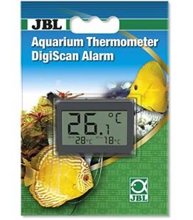 JBL Termometro per Acquario DigiScan Alarm, Colore: Grigio
