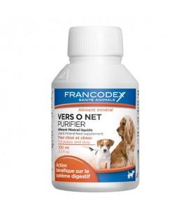 Francodex Vermifugo Purificatore alimentare per cani 100ml