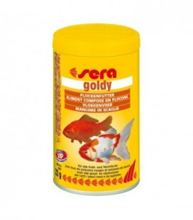 Sera Goldy Nature pesci rossi scaglie 100 ml/22 gr