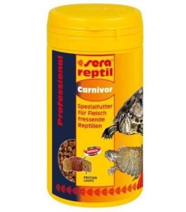 Sera Reptil Carnivori compresse mangime per tartarughe 80gr