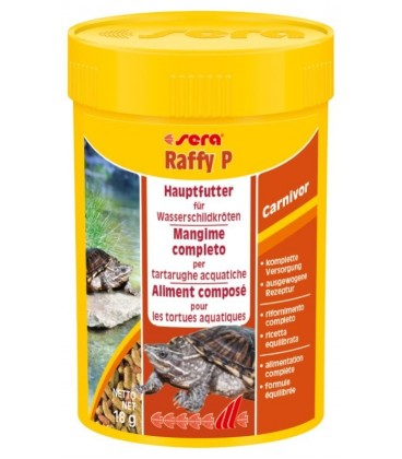 Sera Reptil Raffy P pelletts 18 gr
