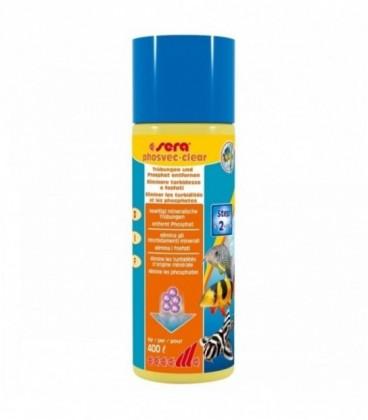 Sera Phosvec Clear 100 ml per 400 litri (anti alghe - anti intorbidimento - anti fosfati)