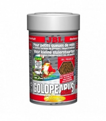 Jbl Goldpearls mini granulare per pesci rossi 56g/100ml