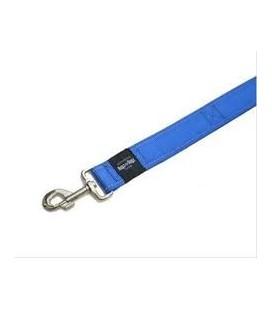 Rogz Landing strip Guinzaglio naylon riflettente XXL larg. 40 x lung.54 cm blu