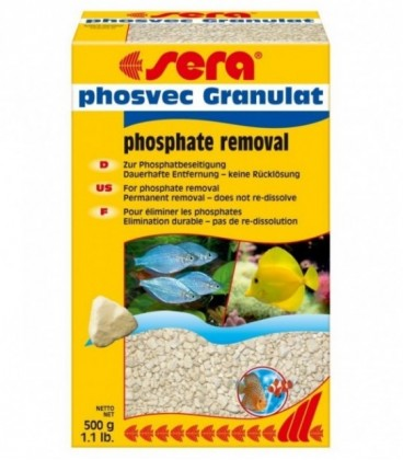 Sera Phosvec granulat 500 gr