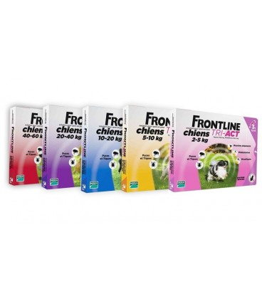 Frontline Tri Act cani 10-20 kg 3 pipette