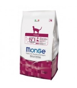 Monge Natural Superpremium indoor crocchette con pollo gr.400
