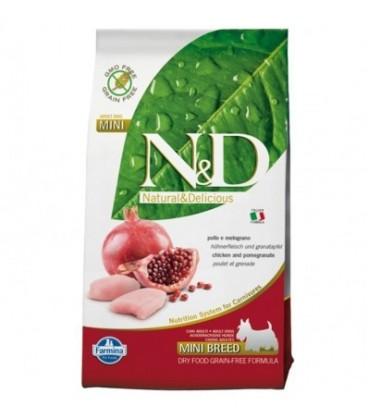 Farmina N & D Grain Free Adult Mini pollo e melograno kg.2.5