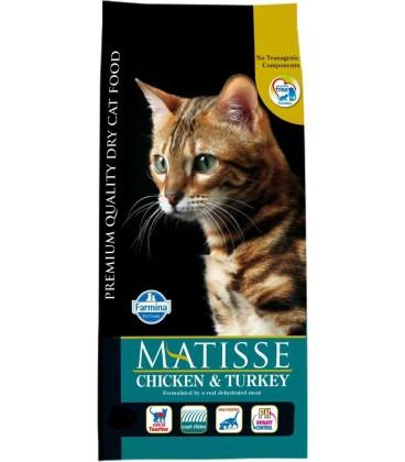 Farmina Matisse crocchette pollo e tacchino kg.1.5
