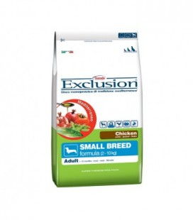 Exclusion Mediterraneo Adult small con pollo gr.800