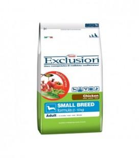 Exclusion Mediterraneo Adult small con pollo gr.800