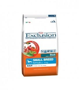 Exclusion Mediterraneo Adult Small con anatra kg.2