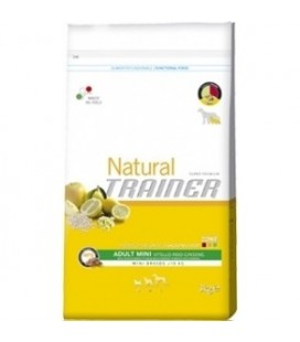 Trainer Natural Adult Mini con manzo riso e spirulina 800 gr