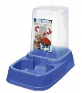 Geoplast Distributore di acqua o cibo 3.7 litri