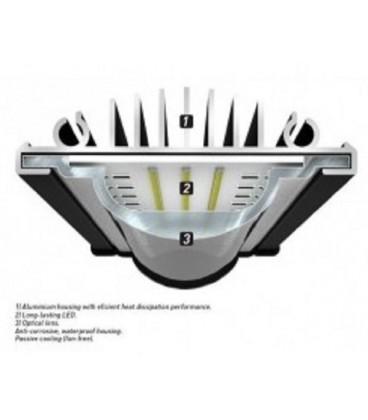 Aquatlantis easy led Freashwather 438mm - 6800K - 20 WATT (Plafoniera Universale)